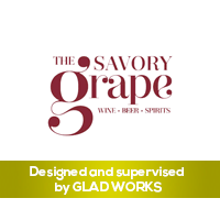 The Savory Grape logo